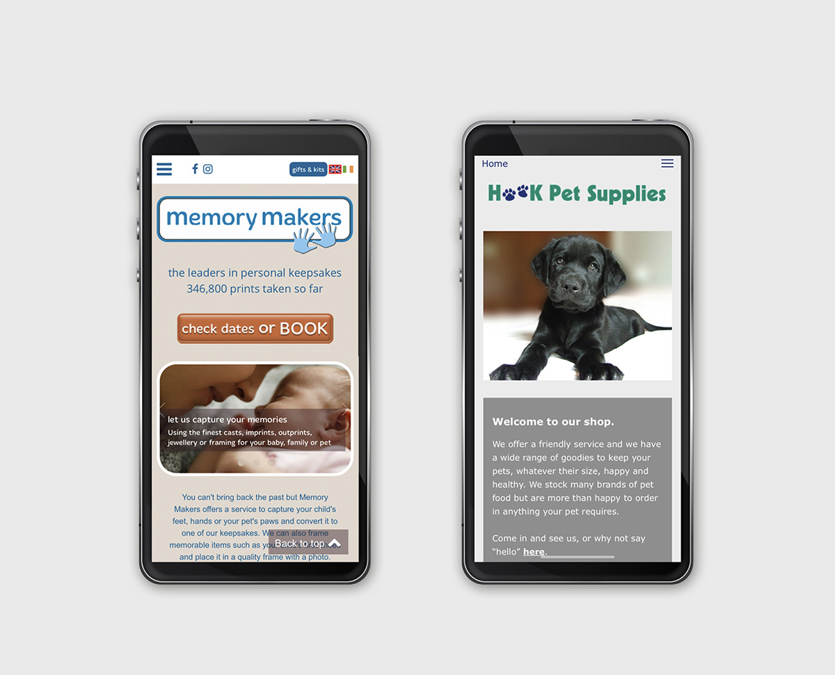 website mobile view responsive