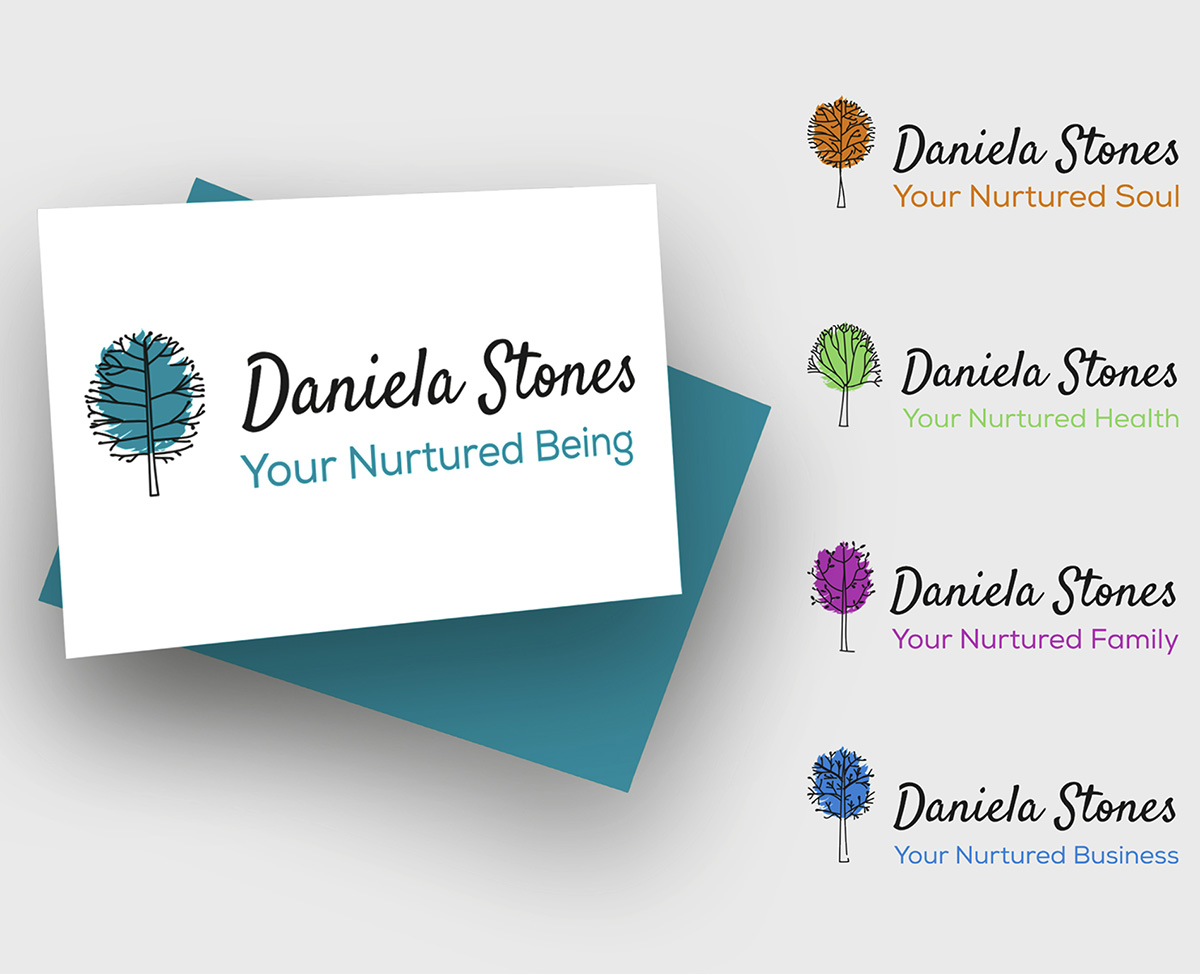 Daniela Stones logo digital design